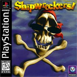 Box cover for Shipwreckers! on the Sony Playstation.