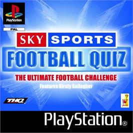 Box cover for Sky Sports Football Quiz on the Sony Playstation.
