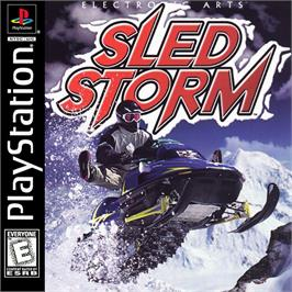 Box cover for Sled Storm on the Sony Playstation.