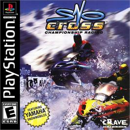 Box cover for Sno-Cross Championship Racing on the Sony Playstation.