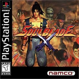 Box cover for Soul Blade on the Sony Playstation.