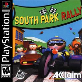 Box cover for South Park Rally on the Sony Playstation.