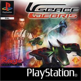 Box cover for Space Debris on the Sony Playstation.