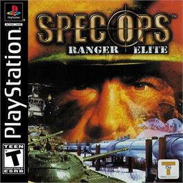 Box cover for Spec Ops: Ranger Elite on the Sony Playstation.
