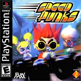 Box cover for Speed Punks on the Sony Playstation.