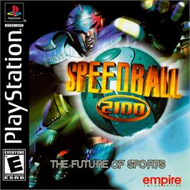Box cover for Speedball 2100 on the Sony Playstation.