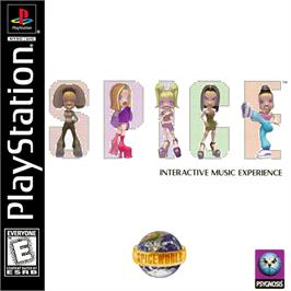 Box cover for Spice World on the Sony Playstation.