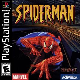 Box cover for Spider-Man on the Sony Playstation.