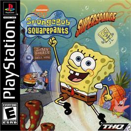 Box cover for SpongeBob SquarePants: SuperSponge on the Sony Playstation.