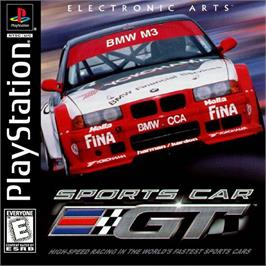 Box cover for Sports Car GT on the Sony Playstation.