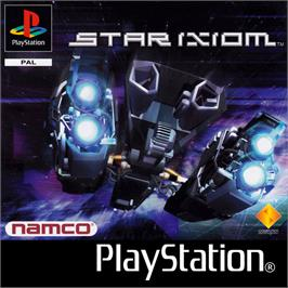 Box cover for Star Ixiom on the Sony Playstation.
