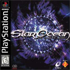 Box cover for Star Ocean: The Second Story on the Sony Playstation.