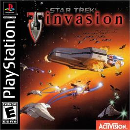 Box cover for Star Trek: Invasion on the Sony Playstation.