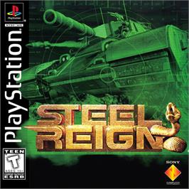 Box cover for Steel Reign on the Sony Playstation.