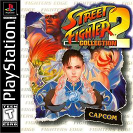 Box cover for Street Fighter Collection 2 on the Sony Playstation.