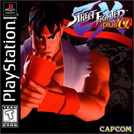 Box cover for Street Fighter EX Plus Alpha on the Sony Playstation.