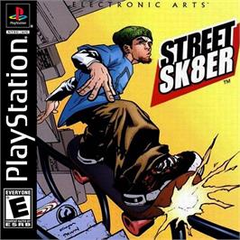Box cover for Street Sk8er on the Sony Playstation.