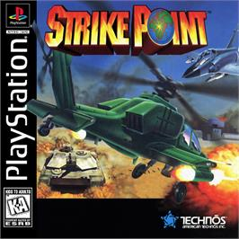 Box cover for Strike Point on the Sony Playstation.