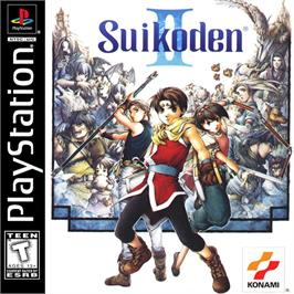 Box cover for Suikoden II on the Sony Playstation.