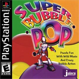 Box cover for Super Bubble Pop on the Sony Playstation.