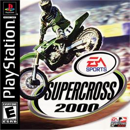 Box cover for Supercross 2000 on the Sony Playstation.