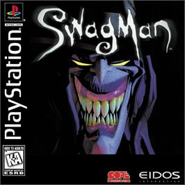 Box cover for Swagman on the Sony Playstation.