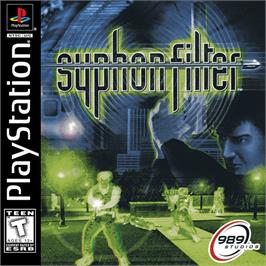 Box cover for Syphon Filter on the Sony Playstation.