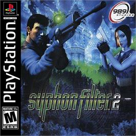 Box cover for Syphon Filter 2 on the Sony Playstation.