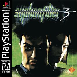 Box cover for Syphon Filter 3 on the Sony Playstation.