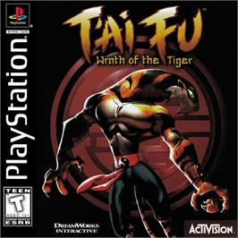 Box cover for T'ai Fu: Wrath of the Tiger on the Sony Playstation.
