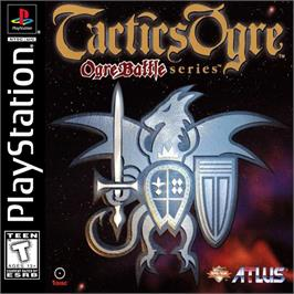 Box cover for Tactics Ogre on the Sony Playstation.