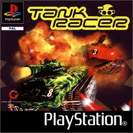 Box cover for Tank Racer on the Sony Playstation.
