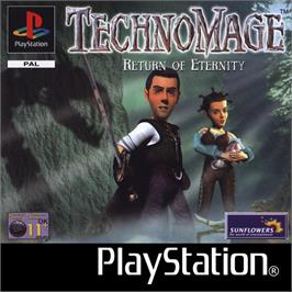 Box cover for TechnoMage: Return of Eternity on the Sony Playstation.