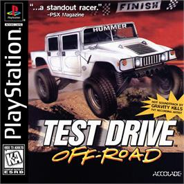 Box cover for Test Drive: Off-Road on the Sony Playstation.