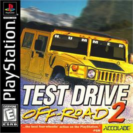 Box cover for Test Drive: Off-Road 2 on the Sony Playstation.