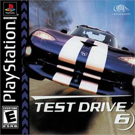 Box cover for Test Drive 6 on the Sony Playstation.