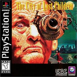 Box cover for The City of Lost Children on the Sony Playstation.