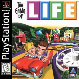 Box cover for The Game of Life on the Sony Playstation.