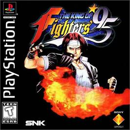 Box cover for The King of Fighters '95 on the Sony Playstation.