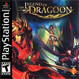 Box cover for The Legend of Dragoon on the Sony Playstation.