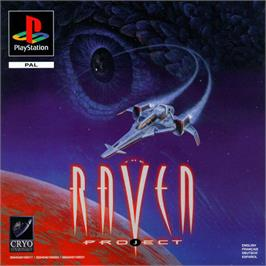 Box cover for The Raven Project on the Sony Playstation.