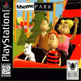 Box cover for Theme Park on the Sony Playstation.