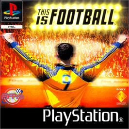Box cover for This is Football on the Sony Playstation.
