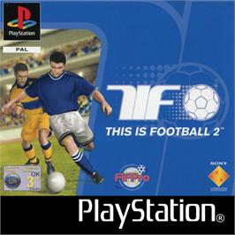 Box cover for This is Football 2 on the Sony Playstation.