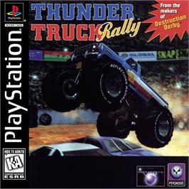 Box cover for Thunder Truck Rally on the Sony Playstation.