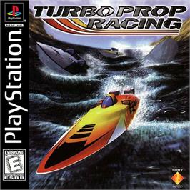 Box cover for Turbo Prop Racing on the Sony Playstation.