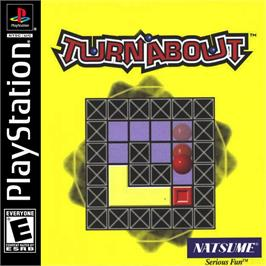 Box cover for Turnabout on the Sony Playstation.