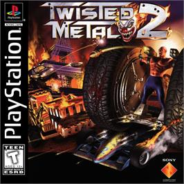 Box cover for Twisted Metal 2 on the Sony Playstation.