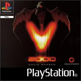 Box cover for V2000 on the Sony Playstation.