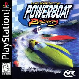 Box cover for VR Sports Powerboat Racing on the Sony Playstation.